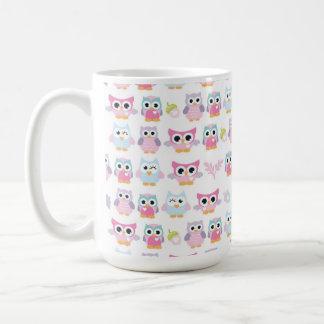 Owl Gals & Acorns Mug