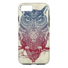 Owl iPhone 7 phone case, tough material iPhone 8/7 Case