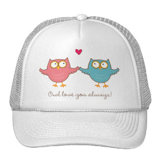owl love you cap