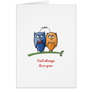 Owl Love You Valentine's Day Card