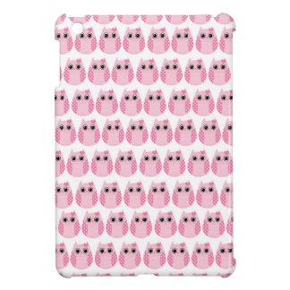 Owl party retro kawaii cute owling owls pattern iPad mini covers