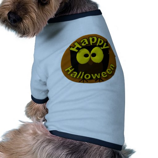 Owl Picture Doggie T-shirt