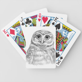 Owl Poker Deck