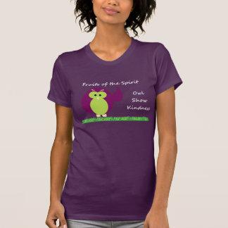 Owl Show Kindness American Apparel T-Shirt