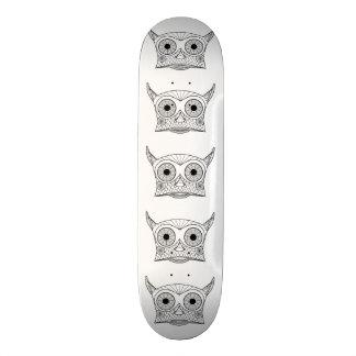 OWL Skate 21.6 Cm Old School Skateboard Deck