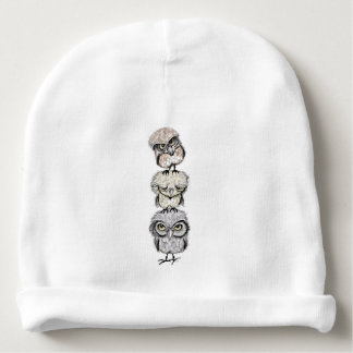 owl totæm baby beanie
