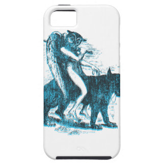 Owl Wolf Rider iPhone 5 Case