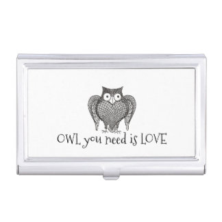 Owl you Need Business Card Holder