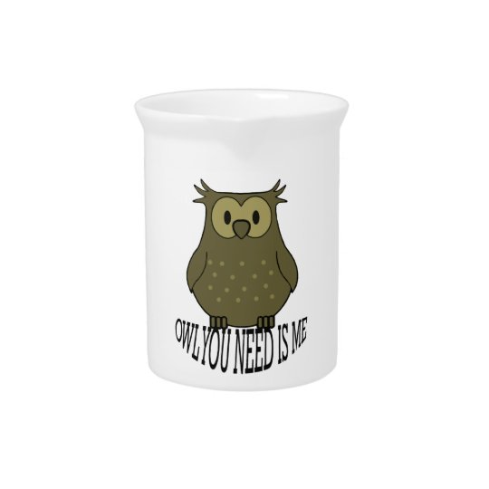 owl you need is me pitcher