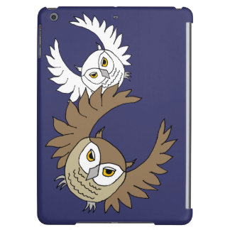 owls flying iPad Air Savvy case