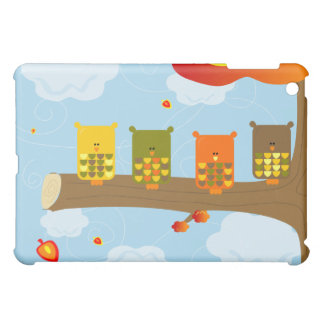 Owls on a Branch iPad Case