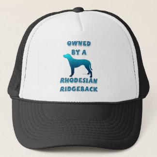 Owned by a Rhodesian Ridgeback Trucker Hat