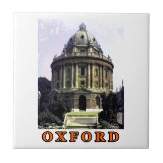 Oxford 1986 snapshot 198 Orange The MUSEUM Zazzle Ceramic Tile