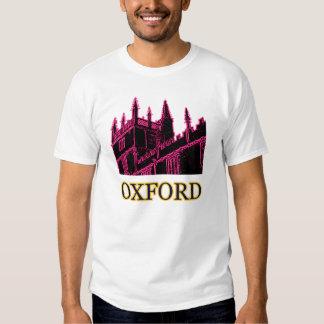Oxford England 1986 Building Spirals Magenta T Shirts
