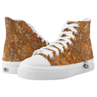 Oxidation Custom High Top Printed Shoes