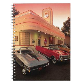 Oxygentees Vintage Auto Notebook