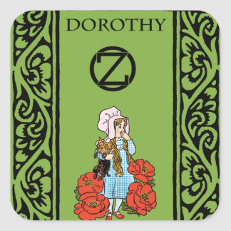 Oz - Dorothy Square Sticker