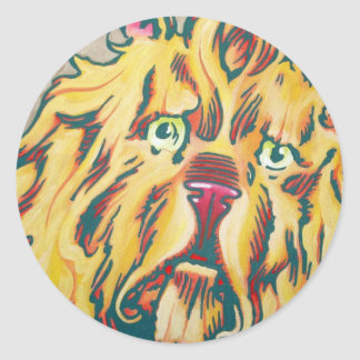 Oz Sticker - Cowardly Lion