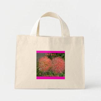 P2150107, i love this bag, FIRE BALL Mini Tote Bag