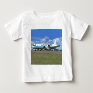P3 Orion NOAA Weather Plane Baby T-Shirt