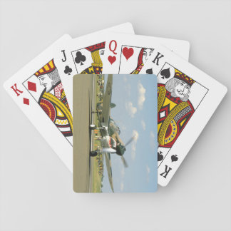 P40 Curtis W/ Fierce Face, Taxiing_WWII Planes Playing Cards