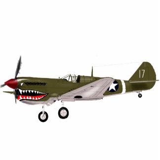 P40 Warhawk Standing Photo Sculpture