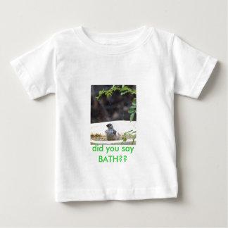 P5233038bird bath baby T-Shirt