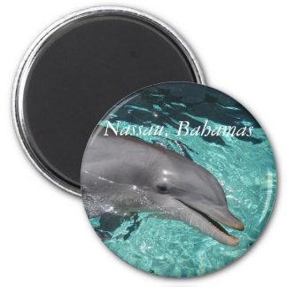P8010404, Nassau, Bahamas 6 Cm Round Magnet
