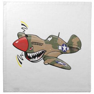 p-40 warhawk napkin