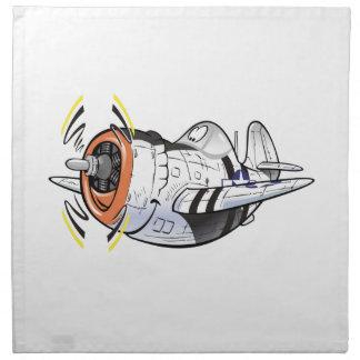 P-47 thunderbolt napkin