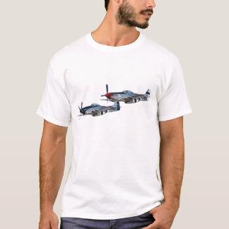 P-51 Mustangs Quick Silver & GLamorous Gal T-Shirt