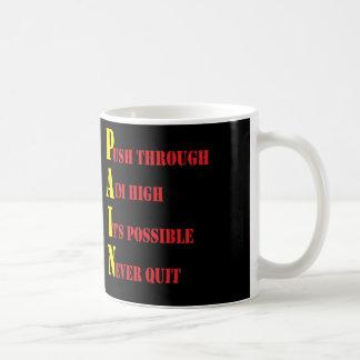 P.A.I.N. COFFEE MUG