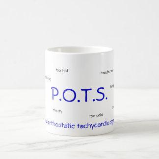 P.O.T.S. (postural orthostatic tachycardia) mug