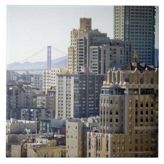 Pacific Heights and Golden Gate Bridge Tile