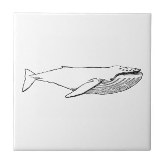 Pacific Humpback Whale Tile