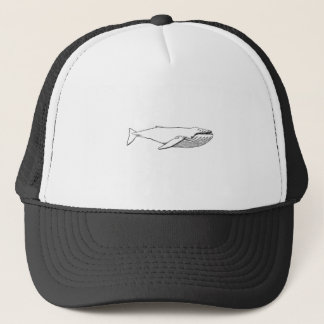 Pacific Humpback Whale Trucker Hat