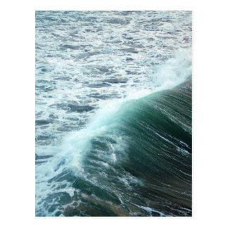 Pacific Ocean Blue Postcard