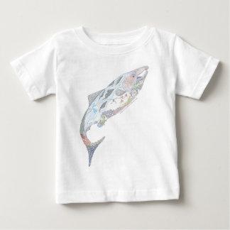 Pacific Salmon Habitat Baby T-Shirt