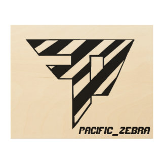 Pacific_Zebra Painting Wood Prints