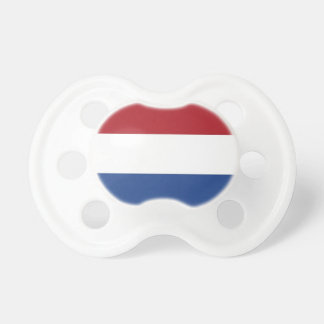 Pacifier with flag of Netherlands