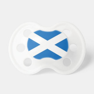 Pacifier with flag of Scotland