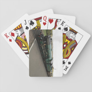 Pack Of Cards With Steam Locomotive (Dungeness)