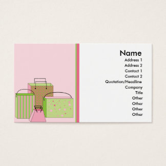 Packages Business Card