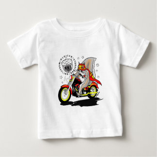 Paco on motorcycle baby T-Shirt