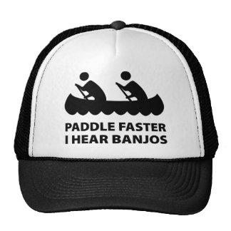 Paddle Faster I Hear Banjos Hats