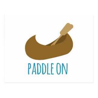 Paddle On Postcard