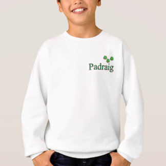 Padraig Mens Name Sweatshirt