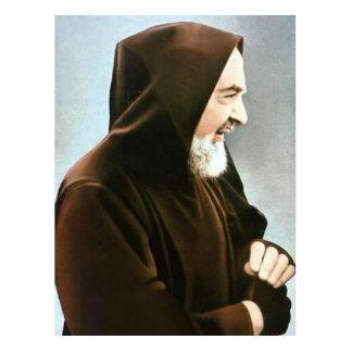 Padre Pio Photo Sculpture