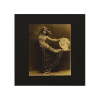 Pagan Moon Dancer Wood Prints