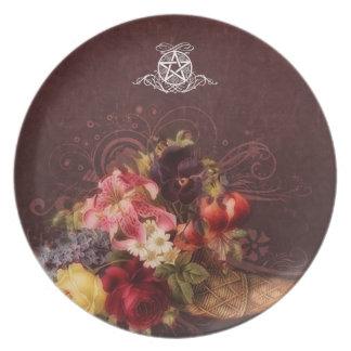 Pagan Renaissance: Cornucopia Pentacle Plate